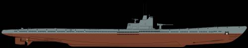 Shadowgraph S-56 submarine.svg